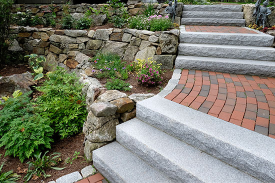 Hardscape design and installation in New Hampshire