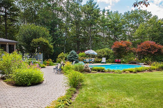 Landscape design and installation company in New Hampshire