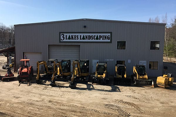 3 Lakes Landscaping equipment