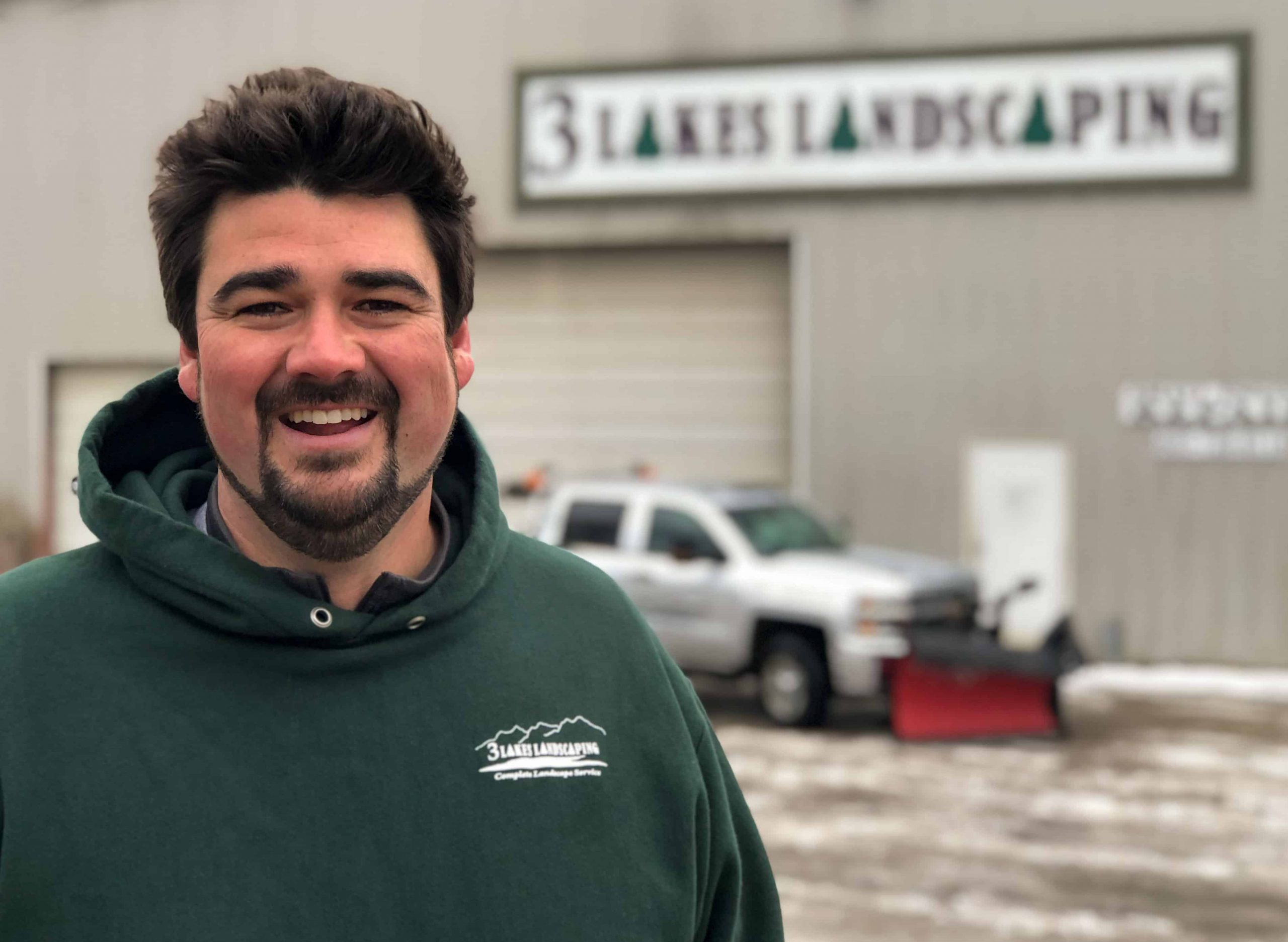 Colby Lenentine, 3 Lakes Landscaping Owner